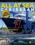All At Sea - The Caribbean's Waterfront Magazine - September 2018