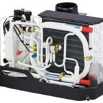 The Webasto BlueCool S-Series model S10 has a cooling capacity of 10,000 BTU/h