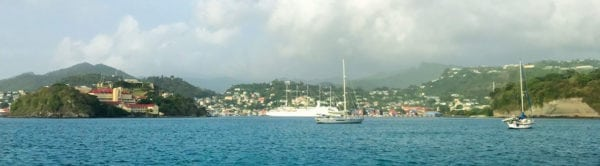 St. George's, Grenada. Photo by Capt. Jeff Werner