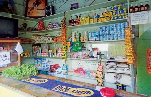 Island store. Photo by Diana Reynolds