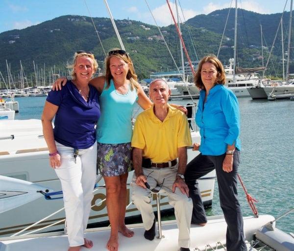 Kathleen (far right) and her Regency team