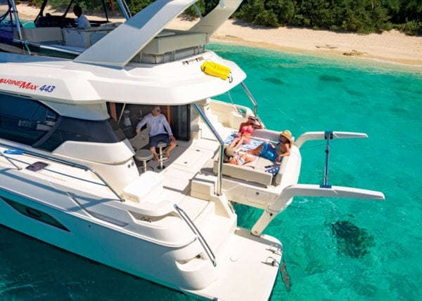 Chilling to the Max. Photo courtesy of MarineMax