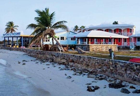Neptune's Treasure restaurant and beach resort