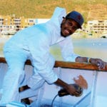Having completed his training Rasheed Richinson is now working in St. Maarten's marine industry. Photo: OceanMedia