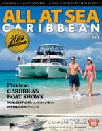 All At Sea - The Caribbean's Waterfront Magazine - October 2018