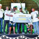 Team Chloe – winners of the Curaçao Marlin Tournament
