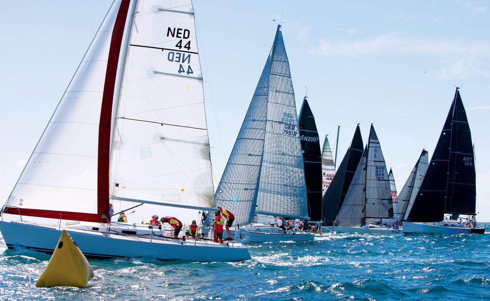 Action at Island Water World Grenada Sailing Week