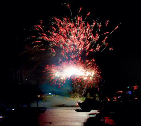 Bequia fireworks