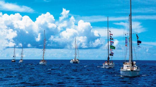 Suzie Too Rally boats set sail from Curaçao heading for Aruba and Colombia. Photo: Shiera Brady