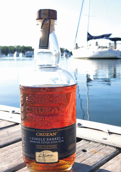 "Cruzan Single Barrel Rum was a part of the 2013 release of the Distiller's Collection – a line of superior blended aged rums. ""Single Barrel"" refers to the fact that after its initial aging, the selected rums are aged a second time in new American oak barrels."