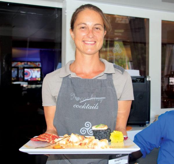 Winning chef Daniela Drescher of Shangri La