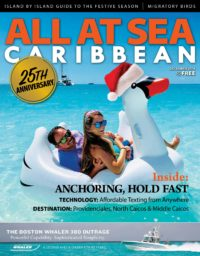 All At Sea - The Caribbean's Waterfront Magazine - December 2018