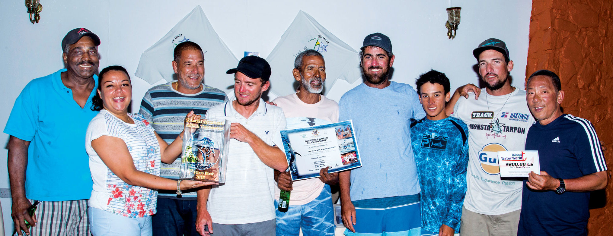 Team Magic Lady have won four major Caribbean sport fishing tournaments this year