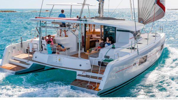 New Sunsail 424 Lagoon 4-cabin 4-head