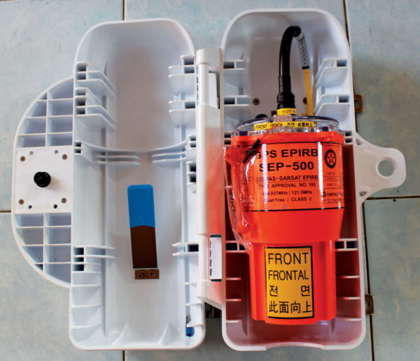 GPS EPIRB - Image Courtesy of Marwan Mohamad. This file is licensed under the Creative Commons Attribution-Share Alike 4.0 International license