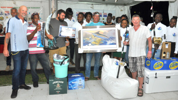 1st Place Boat - Hard Play III - Grenada