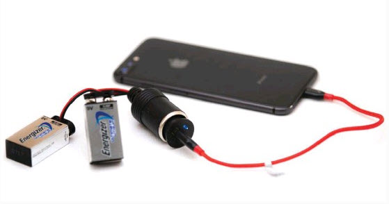 Last Resort Products gets you back on the grid with their patent pending Emergency Phone Charging Kit.