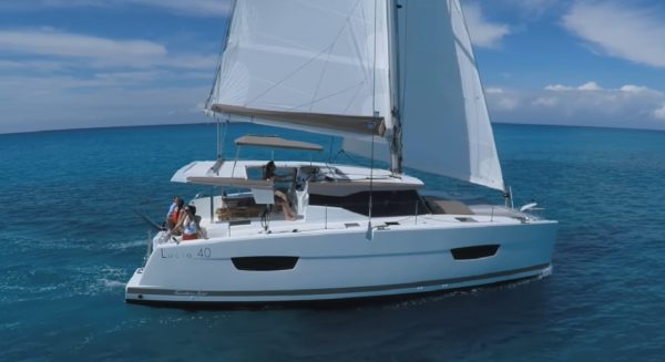 Catamaran Charters are definitely a Hot commodity. Image Courtesy of Conch Charters