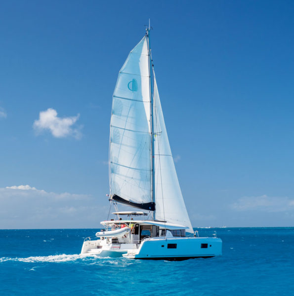 Can you imagine feeling the wind in your sails? Image Courtesy of Horizon Yacht Charters.
