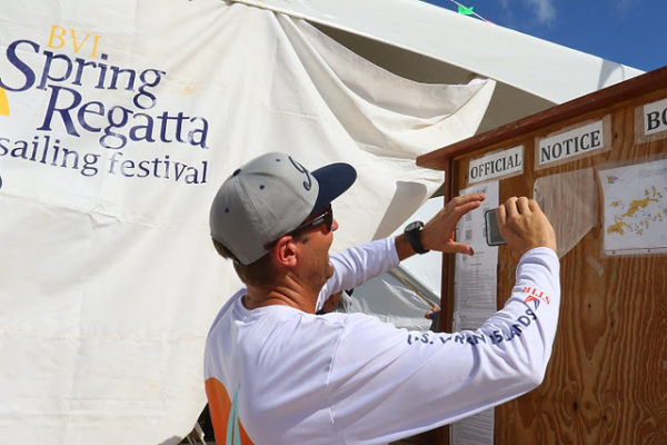 Getting ready for three days of superb racing in the BVI Spring Regatta © www.ingridabery.com