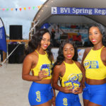 Carib girls at the Welcome party of the 2019 BVI Spring Regatta © www.ingridabery