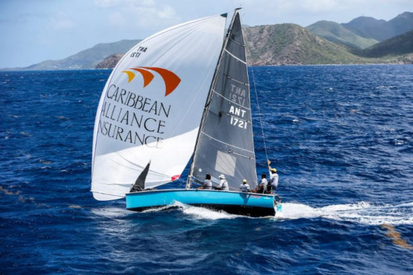 Jules Mitchell's young team from Antigua will be back following their class win last year  © Paul Wyeth