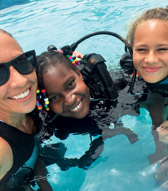What Age are Kids Ready to Scuba Dive?  Image Courtesy of Eco Dive Grenada