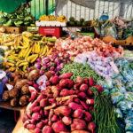 One of dozens of stalls in St. John, Antigua. Photo by Jan Hein