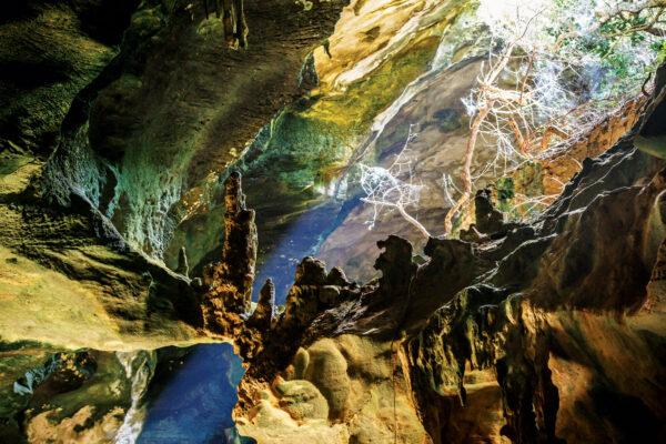 Conch Bar Caves, Turks and Caicos. Courtesy Turks & Caicos National Trust