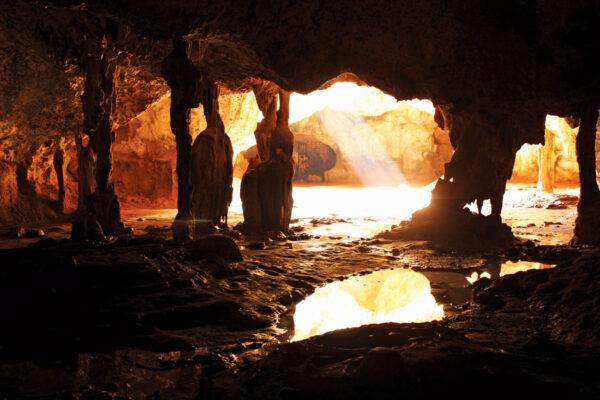 Quadirikiri Cave,Aruba. Courtesy Aruba Tourism Authority