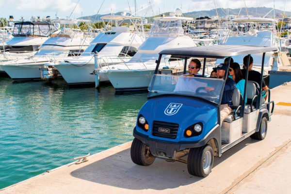 Travel in style at Puerto Del Rey