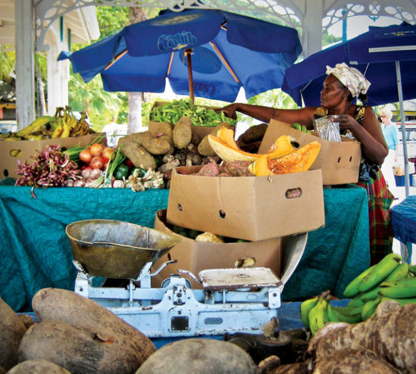 Chat up the market vendors for a real taste of the island