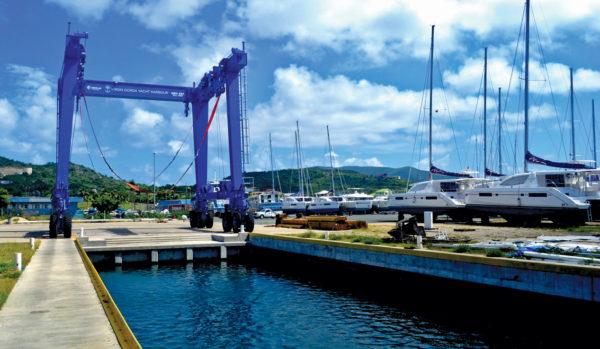 Boatyard at Virgin Gorda Yacht Harbor