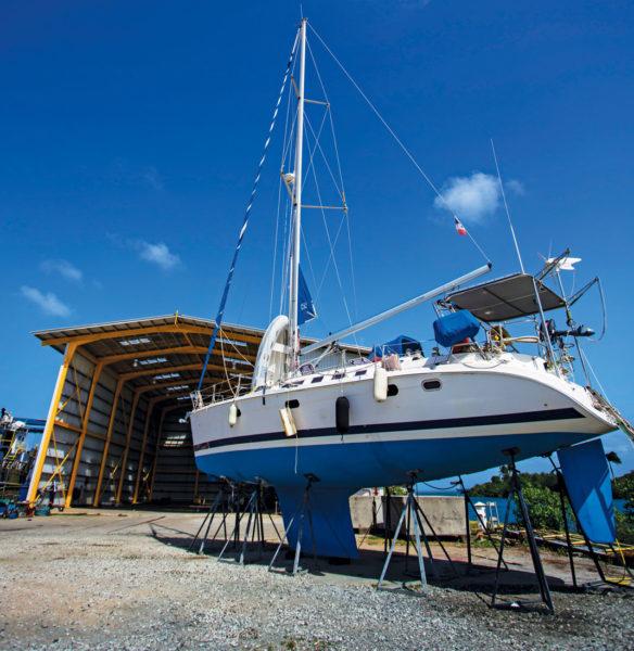 Shelter Bay Marina Boatyard
