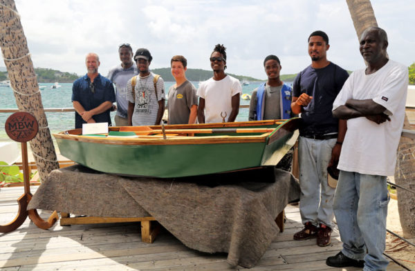 When a rowboat named Grace was launched in July, it was a tangible sign of success for the My Brothers Workshop (MBW) Marine program