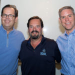 L to R: Boston Whaler president Mr. Nick Stickler, Wally Castro and Marina Puerto del Rey owner Nicholas Prouty.