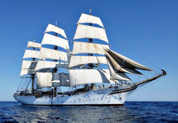 Sørlandet under full sail