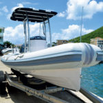 Carib Marine, the in-house brand of Budget Marine, offers the widest range of both fiberglass and aluminum RIBs in stock at its headquarters in St. Maarten
