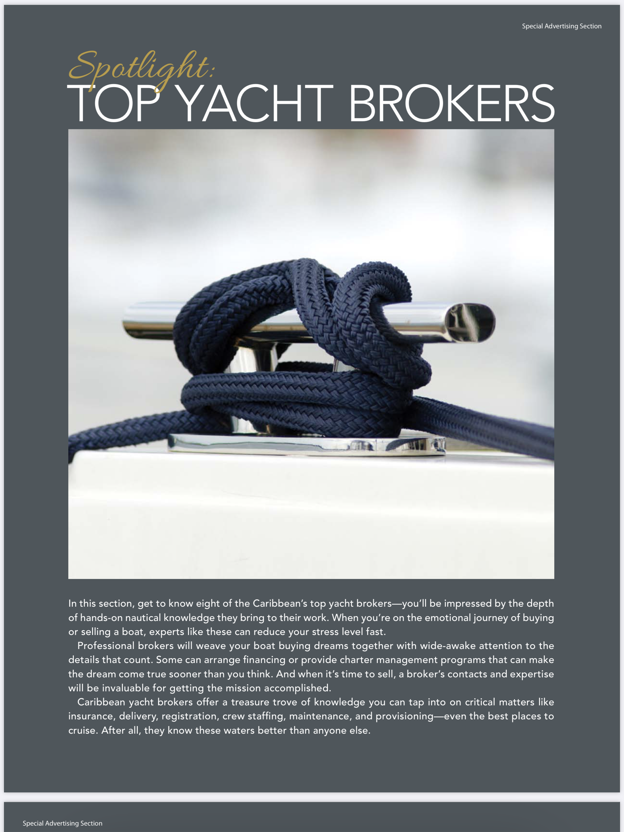 All At Sea - Top Yacht Brokers Special 2019