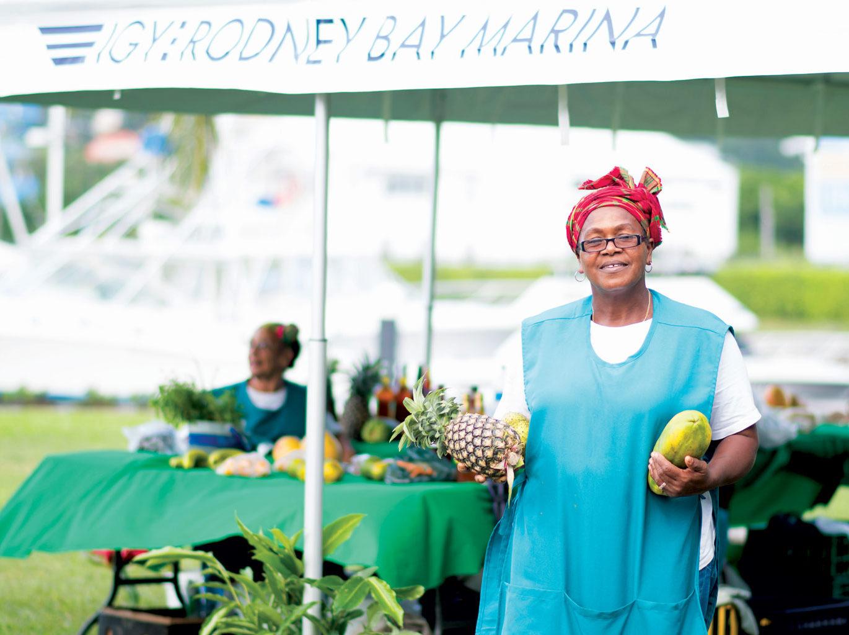 Rodney Bay Marina Farmer's Market