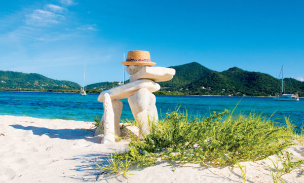Sandy Island, Carriacou. Grenada Tourism Authority
