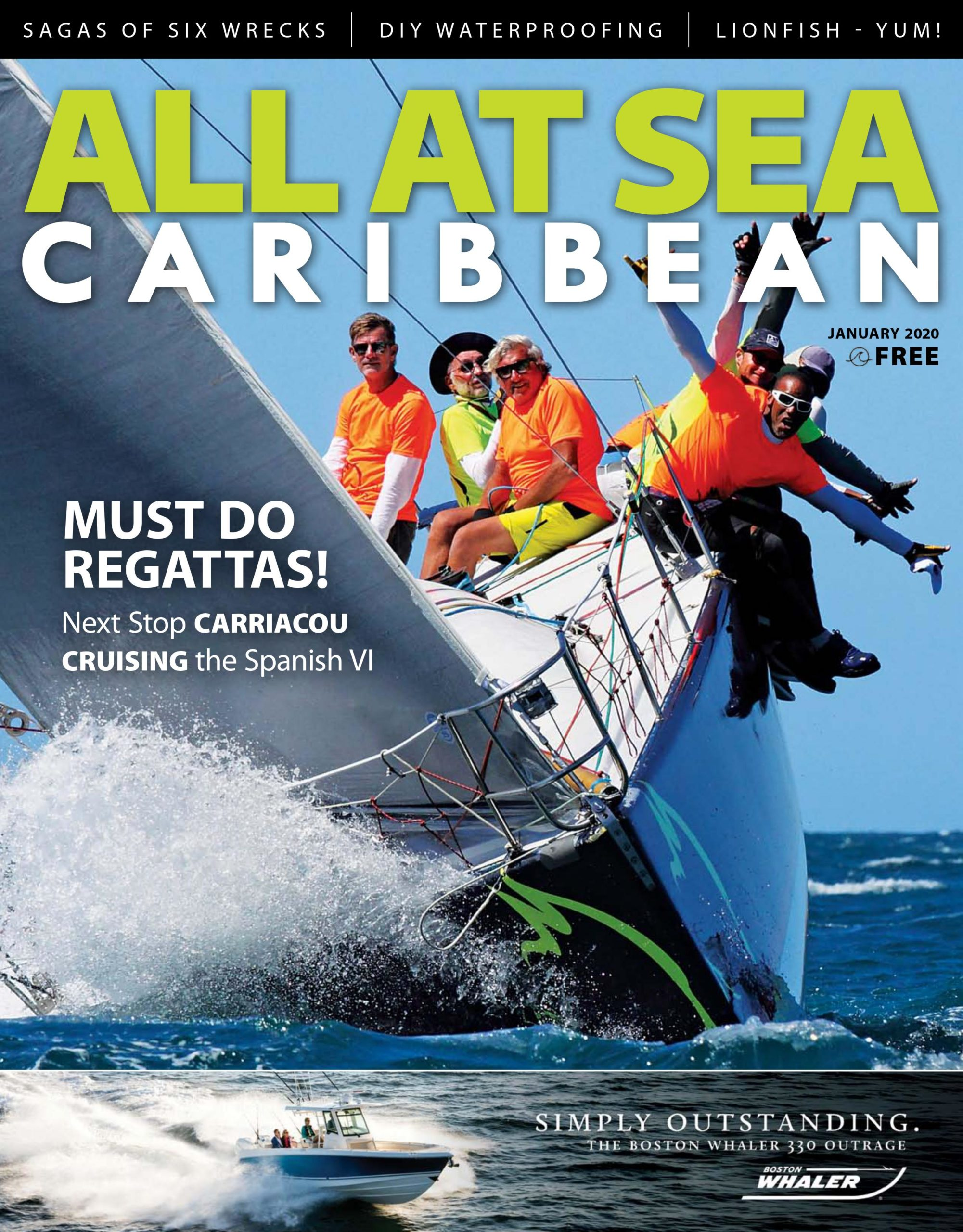 All At Sea - Caribbean - January 2020