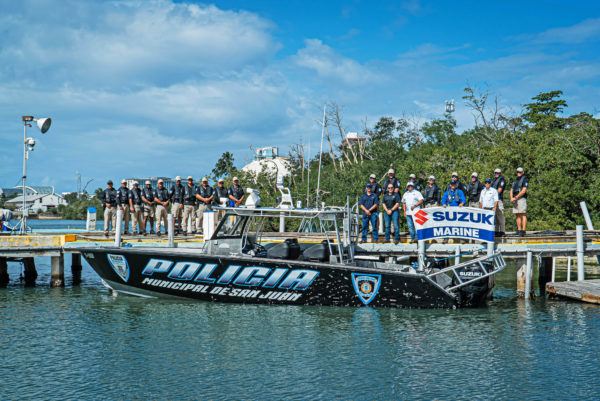 Metal Shark has now delivered five new patrol boats in the past three years to Puerto Rico, where another law enforcement agency, the Puerto Rico Police Department (PRPD), also operates a fleet of Metal Shark vessels.