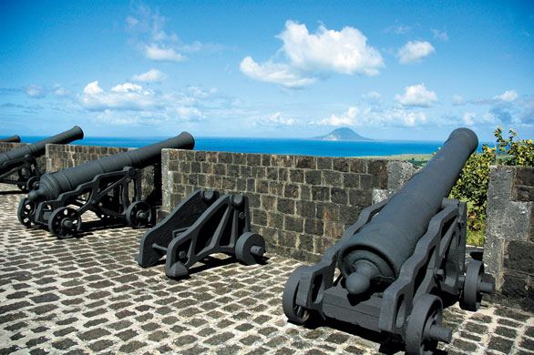 St. Kitts Brimstone Fortress. St Kitts Tourism Authority