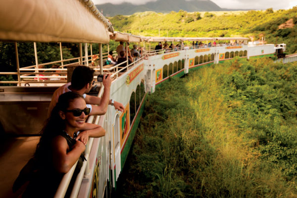 St. Kitts Sugar Train. St Kitts Tourism Authority