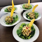 CRAB AND AVOCADO SALAD Recipe and photograph by Leala McClung on Sailing Cat Rapscallion