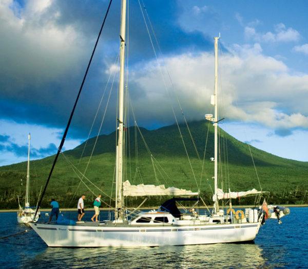Nevis sunset sail. Courtesy Nevis Tourism Authority