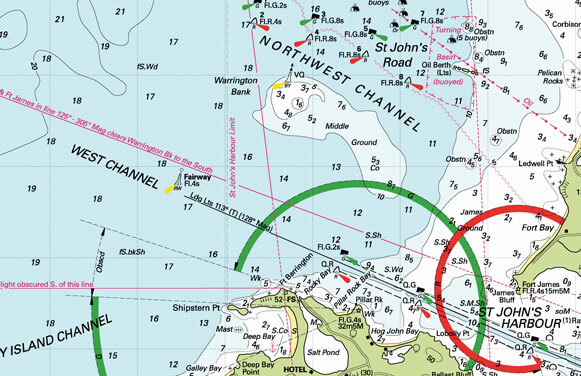 Be sure you have the latest DKW Imray chart, the DWK ID100, for the Eastern Caribbean