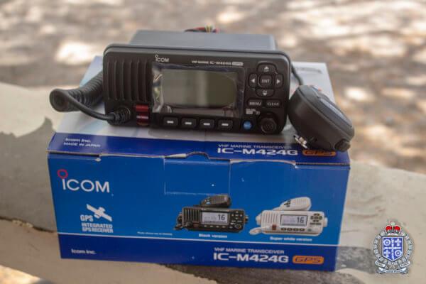IGY Rodney Bay Marina Donation VHF Radio