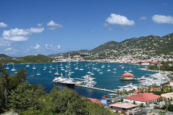 Photo: Charlotte Amalie Harbor, St. Thomas, U.S. Virgin Islands. Credit: Phil Blake